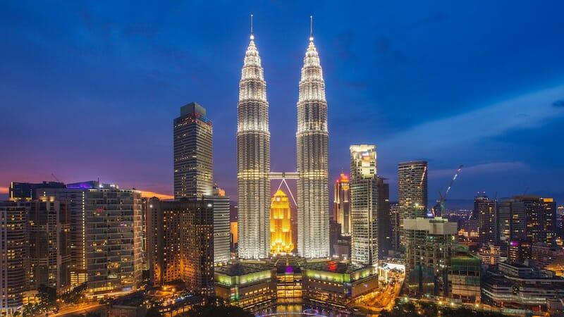 A temple in Kuala Lumpur