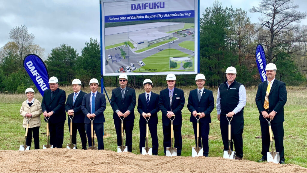 Daifuku Breaks Ground for a New Manufacturing Plant